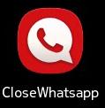 CloseWhatsApp