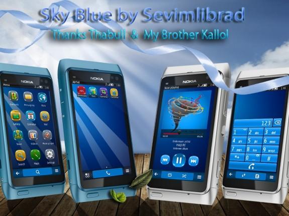 Sky Blue by sevimlibrad