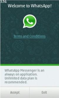 WhatsApp per Serie 40