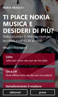 Nokia Musica+