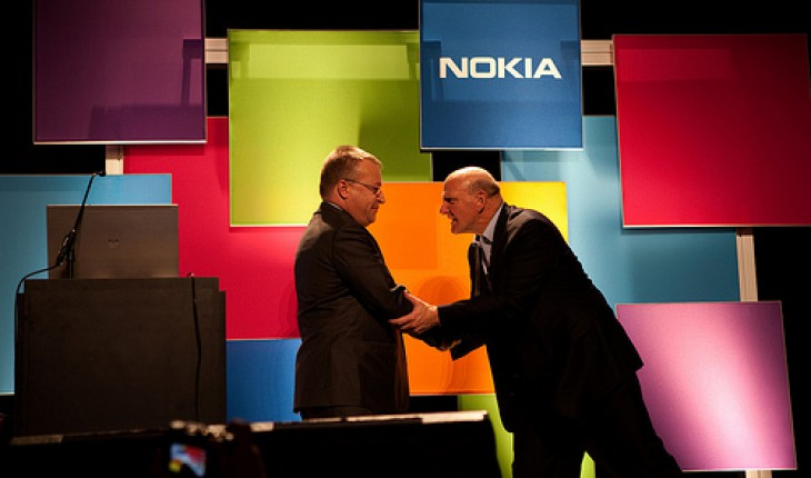 Stephen Elop e Stev Ballmer