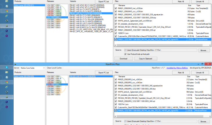 Nuovo firmware v1232.5957.1308.3