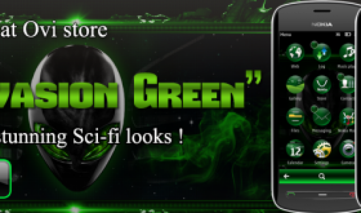 Alien Invasion Green by Soumya