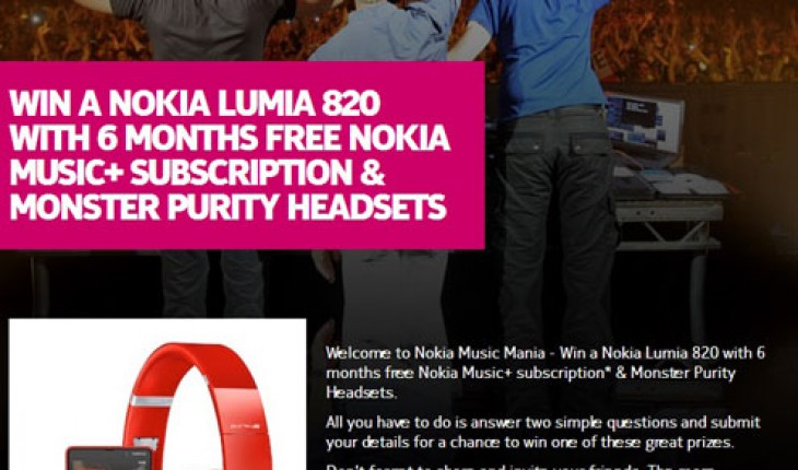 Nokia Music Mania Contest
