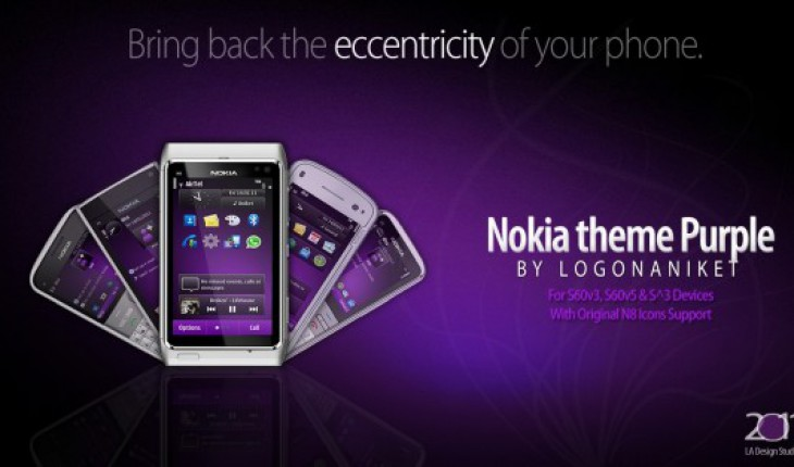 Nokia theme Purple by LA