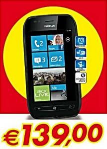 Nokia Lumia 710 in offerta Auchan