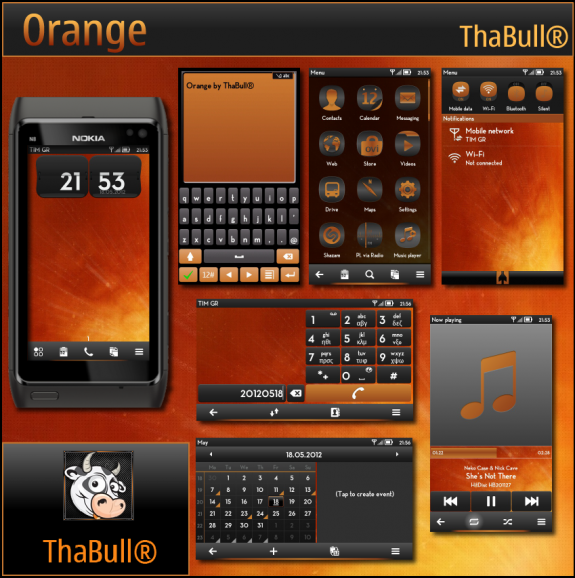 Orange by ThaBull