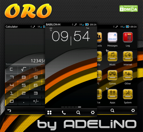 Oro HD by Adelino