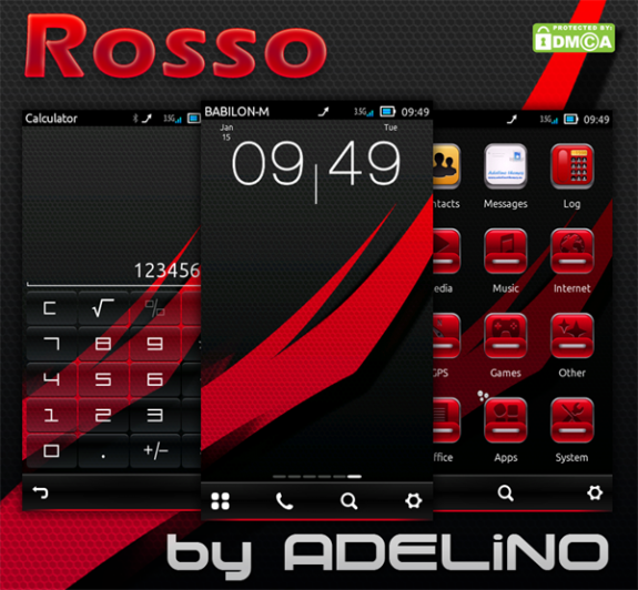 Rosso HD by Adelino