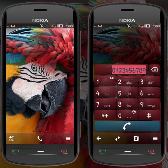 Scarlet Macaw Lite By Arjun