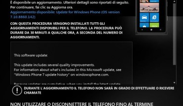 Nuovo firmware 7.10.8860.142 update disponibile
