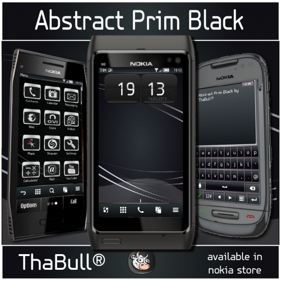 Abstract Prim Black by ThaBull