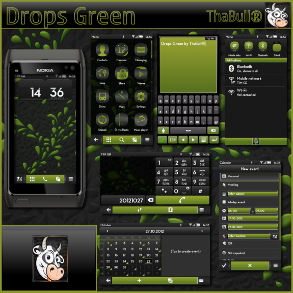 Drops Green by ThaBull