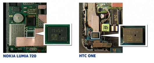 Microfono a doppia membrana Nokia HTC