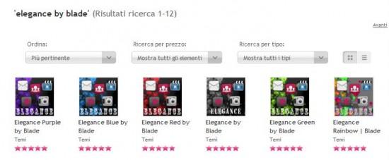 Temi Elegance by Blade per Symbian gratis