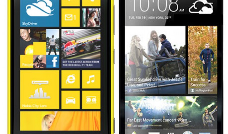 Nokia Lumia 920 vs HTC One
