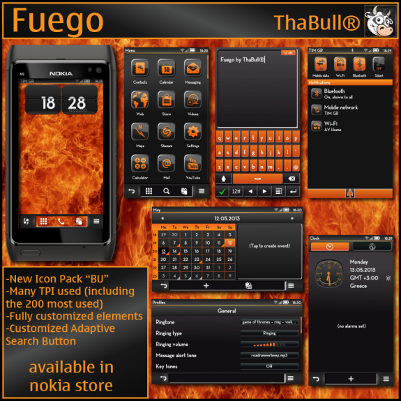 Fuego by ThaBull