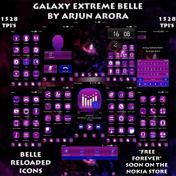 Galaxy Extreme Belle By Arjun