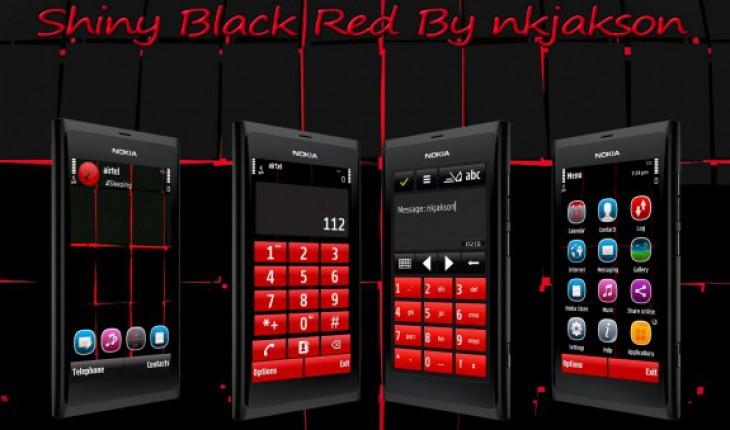 Shiny Black Red by nkjakson