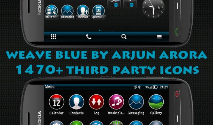 Weave Blue HD By Arjun Arora