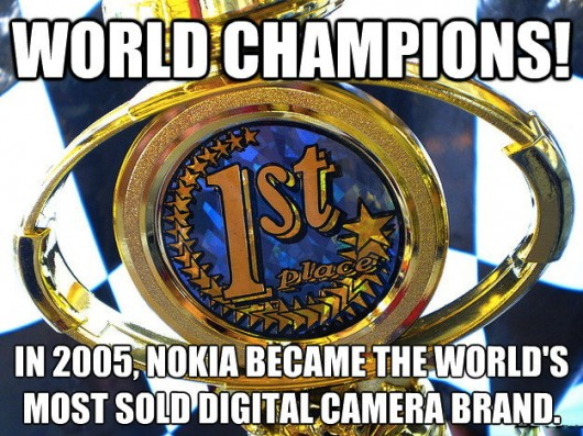 Most sold digital camera brand