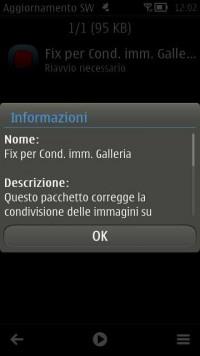 Fix Galleria per Nokia Belle FP2