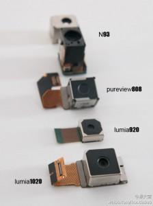 Sensori fotocamere Nokia
