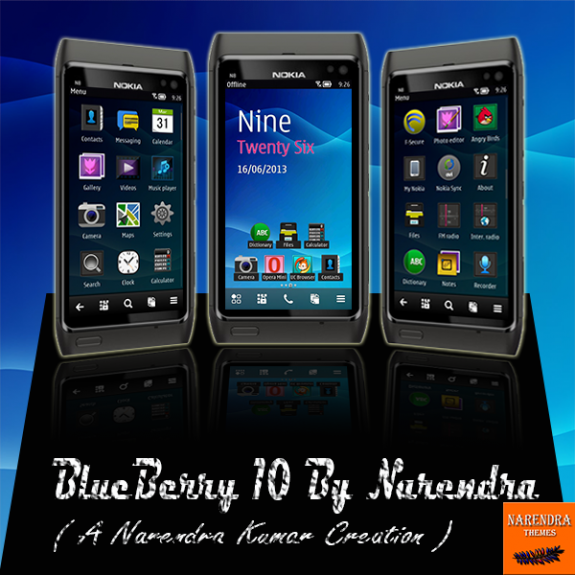BlueBerry 10 by Narendra