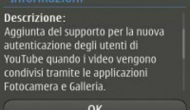 Update Galleria