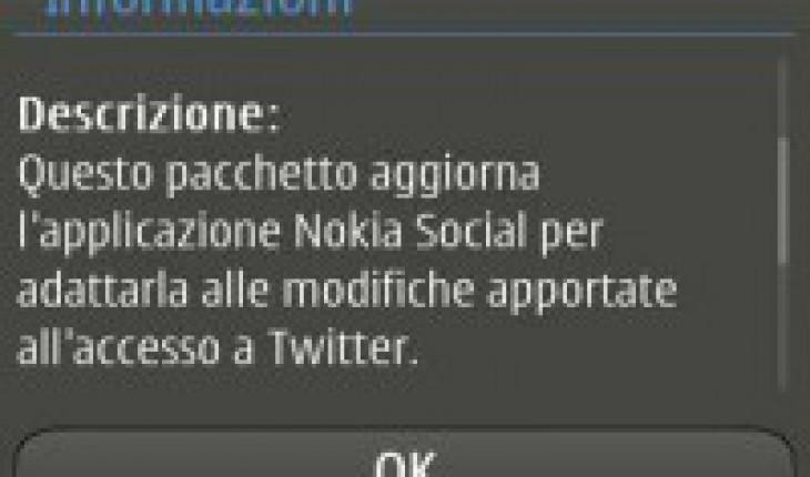 Update Nokia Social