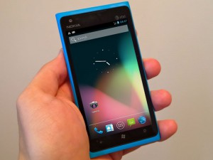 Android su Nokia Lumia 900