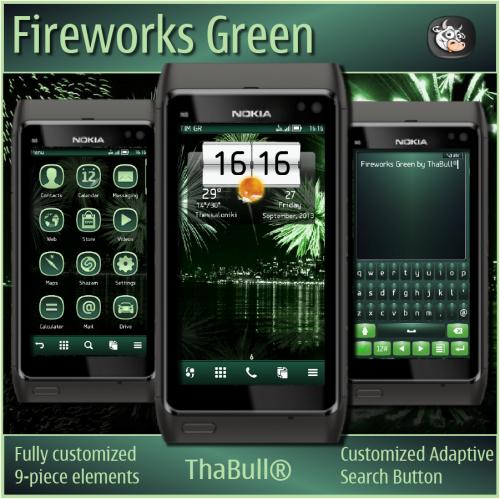 Fireworks Green by ThaBull