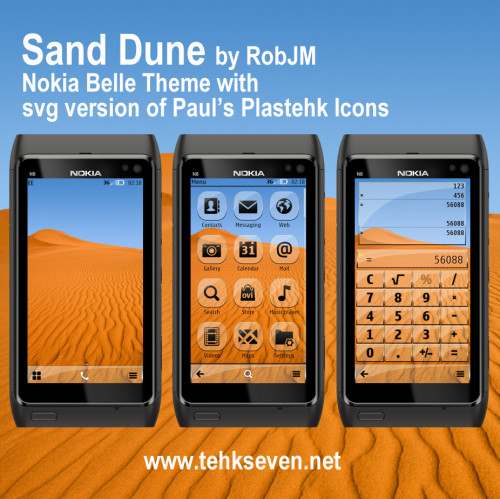 Sand Dune by RobJM