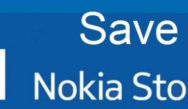 Save Nokia Store