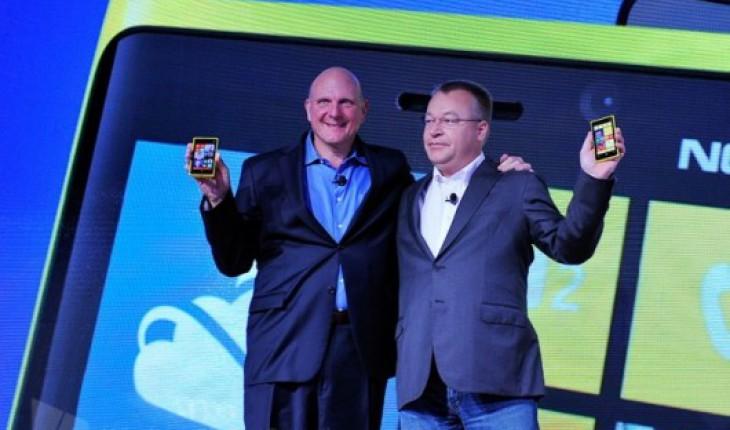 Steve Ballmer e Stephen Elop
