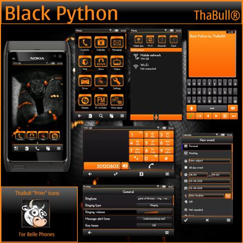 Black Python by ThaBull