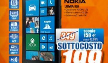 Nokia Lumia 920 in Offerta da Expert Domex