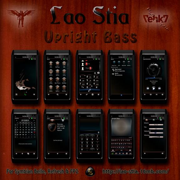 Upright Bass by Lao Stia