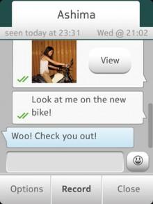 WhatsApp per Nokia Asha 501