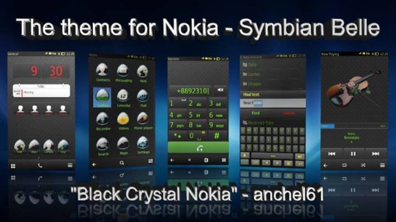 Black Crystal Nokia by Anchel