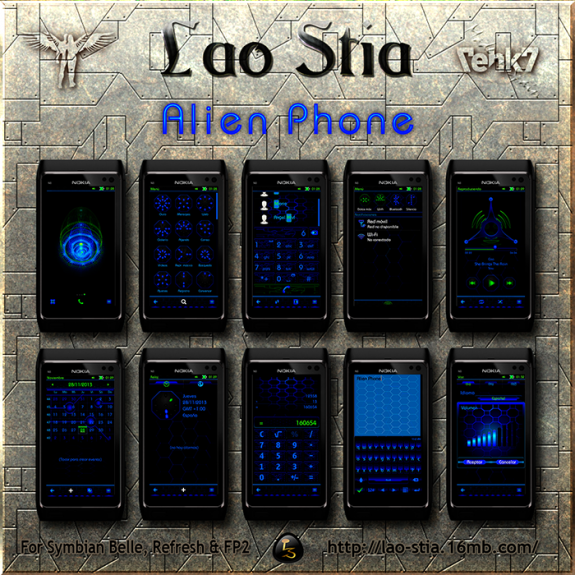 Alien Phone by Lao Stia