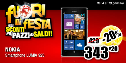 Nokia Lumia 925 in offerta