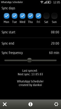WhatsApp Scheduler