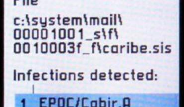 Worm Cabir per Symbian