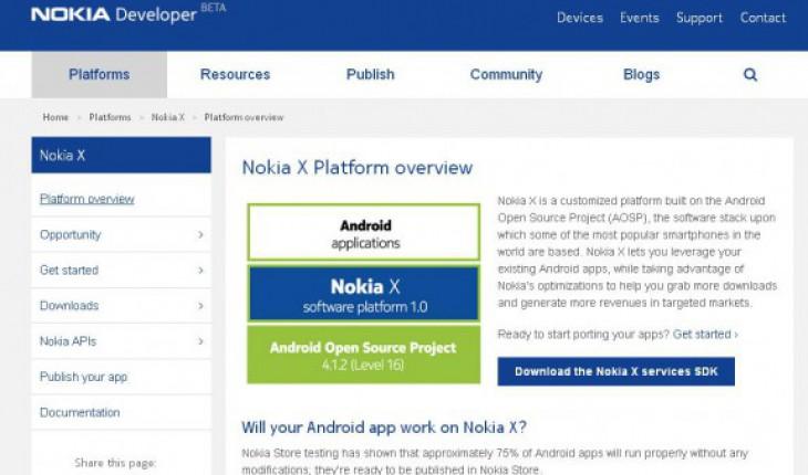 Nokia Developer Nokia X Platform
