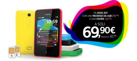 Offerta Nokia Asha501