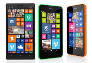 Nokia Lumia 930 e Nokia Lumia 630