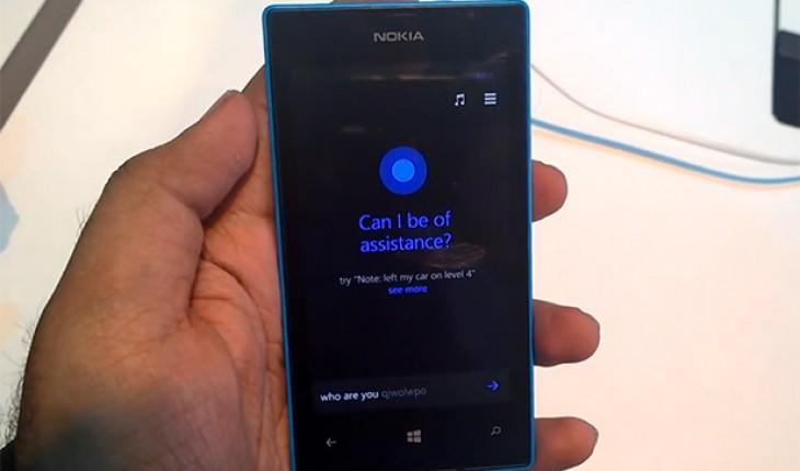 Cortana in azione sul Nokia Lumia 520