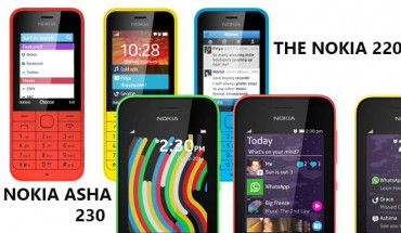Nokia 220 e Nokia Asha 230