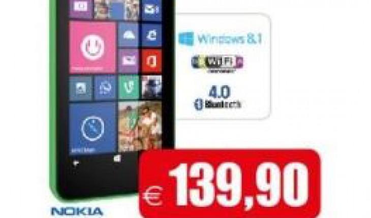 Nokia Lumia 630 in offerta
